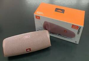 JBL by Harman Charge 4 Portable Bluetooth Speaker Pink in Box Toukley Wyong Area Preview