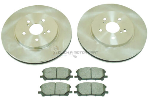 LEXUS RX300 RX350 RX 350 300 3.0 3.5 FRONT 2 BRAKE DISCS AND PADS SET NEW