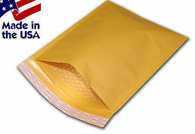 250 00 5x10 Kraft Bubble Mailers Padded Envelopes Bags 5x10