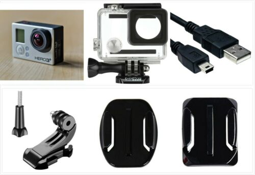 Refurbished GoPro HERO 3+ Plus Black 4K 12MP HD Sport Camera waterproof Case USA