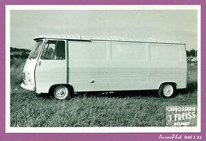 photo vintage vieux fourgon j7 citro n carrosserie freiss belfort j32 ebay. Black Bedroom Furniture Sets. Home Design Ideas