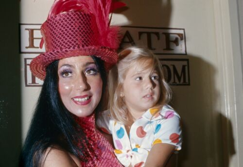 CHER - PHOTO #C-102 - WITH CHASTITY