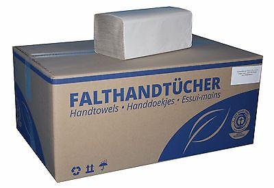 10000 Papierhandtücher Handtuchpapier Falthandtücher 25x23cm 10.000