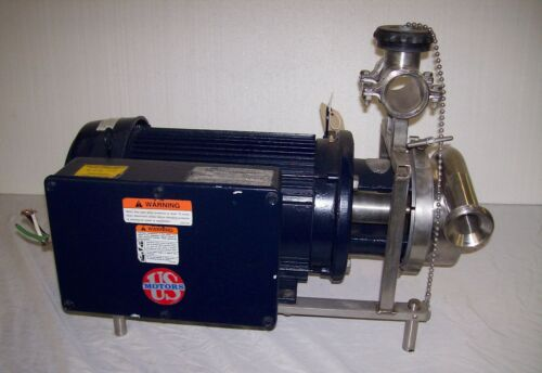 Thomsen #6 Milk Sanitary Pump with 3hp Motor