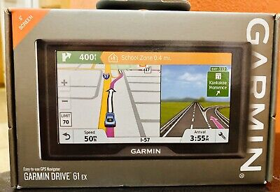 "Garmin - Drive 61 EX 6"" Screen GPS Navigator     (lot 1971)"