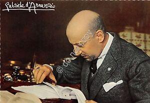 Cartolina-Postcard-Gabriele-d-039-Annunzio-nel-suo-studio-Vittoriale-039-60