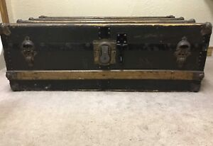 1930's Antique Trunk from England
