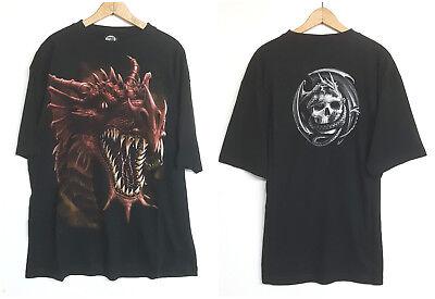 Spiral Direct VIKING SHIELD SLEEVELESS WORKER//Shirt//Skull//Dragon//Biker//M TO 4XL