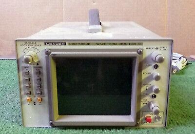 1 Used Leader Lbo-5860b Waveform Monitor Make Offer