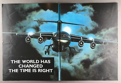BRITISH AEROSPACE RJ 80 LARGE MANUFACTURERS SALES BROCHURE 1990