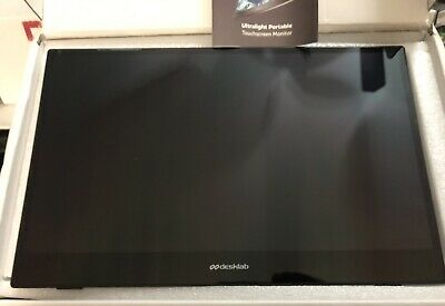 "Desklab Ultralight Portable Touchscreen Monitor... 15"" 4K... Pre-owned"