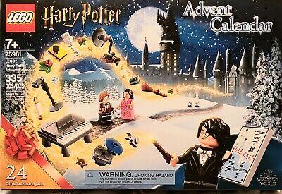LEGO Harry Potter Advent Calendar #75981 335 Pieces. A NEW Sm. Item for 24 Days