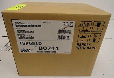 Star Micronics Tsp651d-24 Pos Thermal Receipt Monochrome Printer 2a1.51.jk