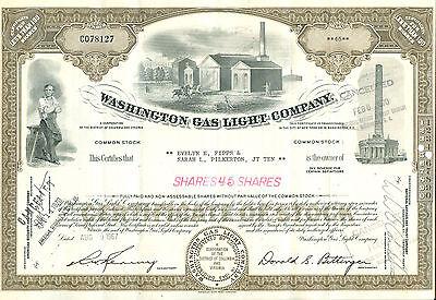 Washington Gas Light Company 1967