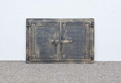 48 x 32.5 cm cast iron fire door clay / bread oven doors pizza stove fireplace