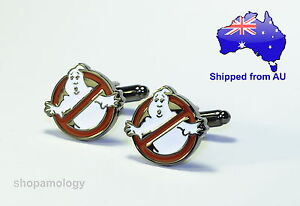 Ghostbuster Novelty Cufflinks *BRAND NEW