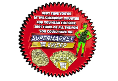 Supermarket Sweep Pin , game show pins, tv show pins
