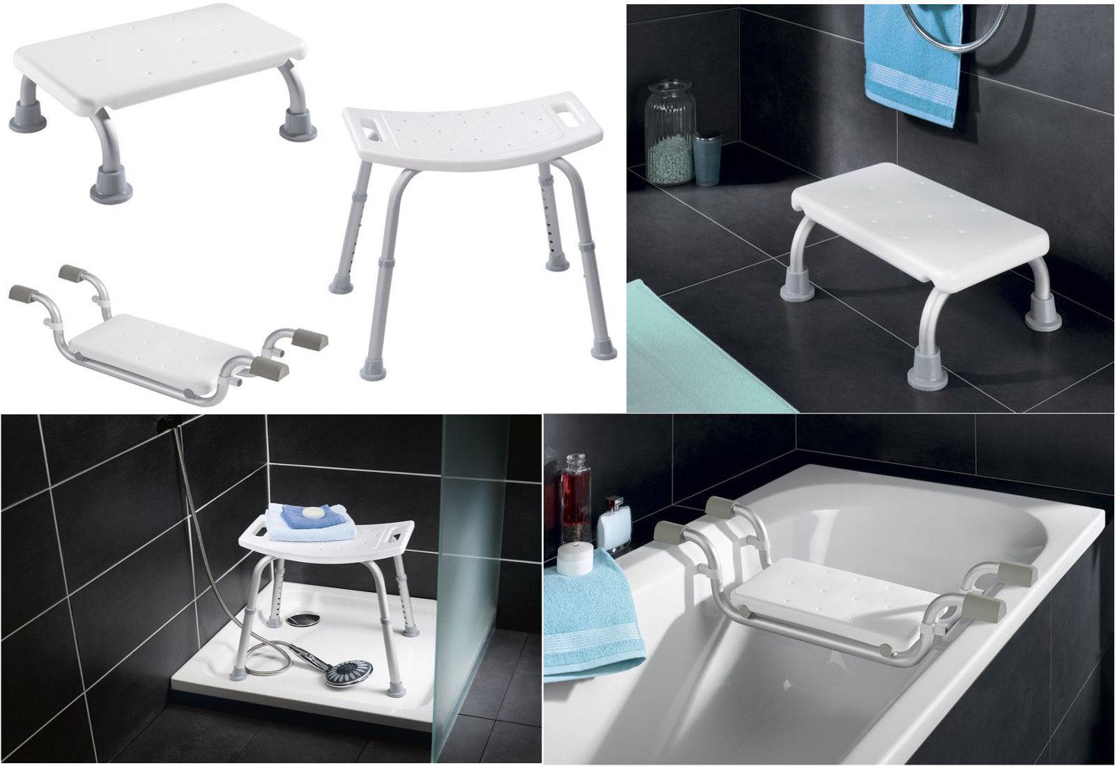 Alu Komfort Badewannensitz-Steighilfe-Duschhocker Badehilfe Badewanne Duschsitz