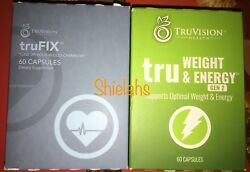 TruVision truWeight & ENERGY Gen 2 30 Day 1 Month DIET 4 Week Supply Tru Control