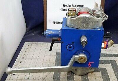 Hydac Hydraulic Manual Discharge Shut-off Valve 5075 Psi Saf32m16-n350f B6fl