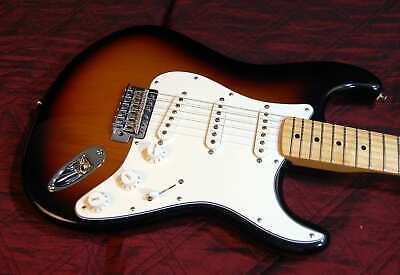 Fender Standard Stratocaster Brown Sunburst Authorized Dealer