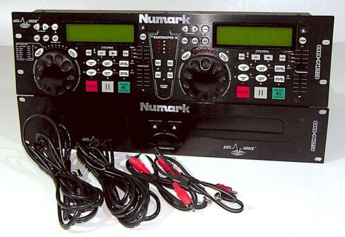 🔥【PRO SERVICED】Numark CDN88 Pro DJ Dual CD Player!Rack,Beatkeeper III💥GUARANTY