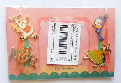 Disney Pin 16294 Disney Catalog - 2002 Advent Calendar Set #1 (4 Pins) Bambi
