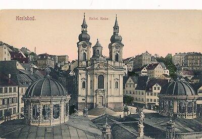 KARLSBAD – Karlovy Vary Katholische Kirche – Czech Republic