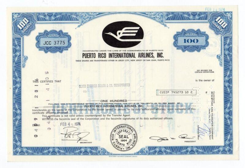Puerto Rico International Airlines, Inc