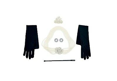 Audrey Hepburn/Breakfast at Tiffany's - Costume Jewelry and Accessory Set - Breakfast At Tiffany's Costume