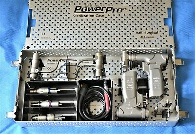 Hall Linvatec Powerpro Electric Drill Oscillating Saw Set