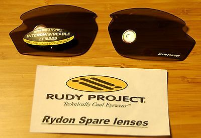 Authentic Rudy Project Rydon Lenses New   Smoke Black