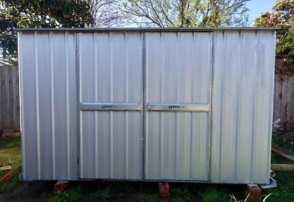 steelchief garden shed selling for less than half price