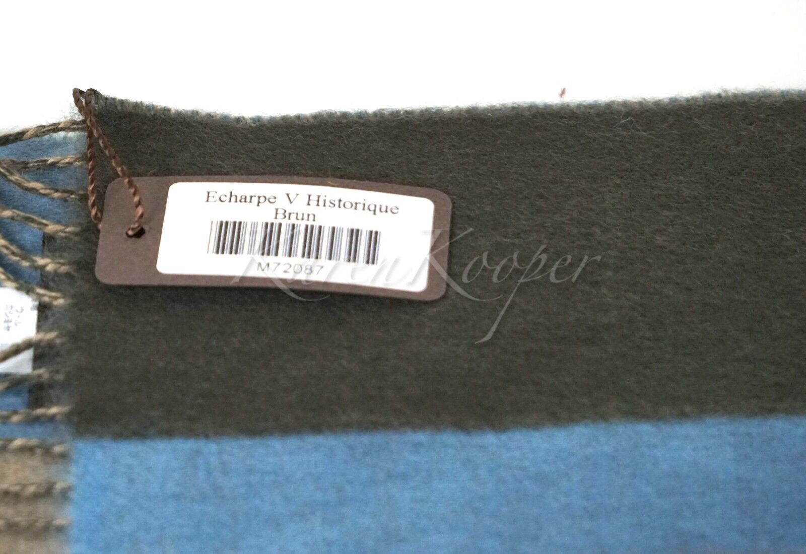 51040d10f83 Мужской шарф AUTHENTIC LOUIS VUITTON V HISTORIQUE CASHMERE SCARF NEW WITH  TAGS