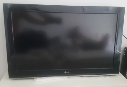 LG TV - missing stand and remote