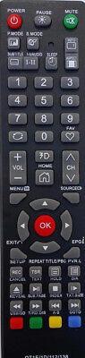 SONIQ TV Remote for SONIQ model QT166, QT155, QT155S - NO SETUP NEEDED