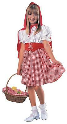 Girls Red Riding Hood Costume Size Medium 8-10 (for ages 5-7 NEW IN PKG (Red Riding Hood Costumes For Girls)