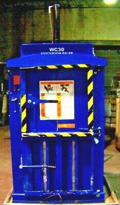 Waste Control International Stockroom Baler Wc30 Baler 2 Hp 220v