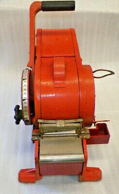 Vintage Tapeshooter Model 100 Manual Gummedwet Kraft Tape Dispenserworks Good