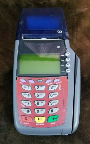Heartland 510 Payment Systems RS232 Credit Card Terminal Only, Untested
