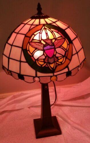 BSA - Tiffany Style Desk Lamp Model CS1-641 Serial Number 050340