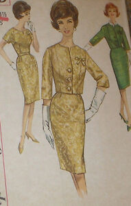 Vintage-1960s-Simplicity-4689-Wiggle-Dress-Jacket-Pattern-37B-sz-16-5