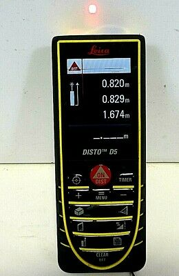 Leica Disto D5 Laser Distance Meter - As Is Free Shipping..