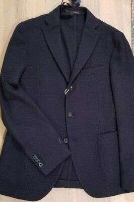 NWT THE GIGI DECONSTRUCTED FLANNEL BLUE 40 38 KAPITAL ORSLOW CARUSO