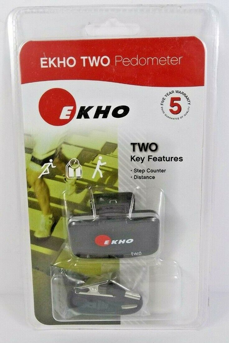 Ekho Two Pedometer Step Counter Distance