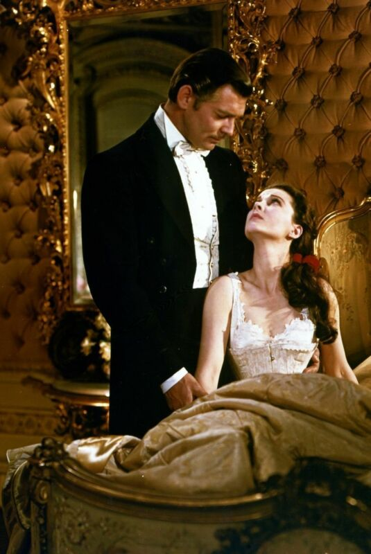 Gone With The Wind Clark Gable Vivien Leigh In Bedroom  8x10 Photo Print