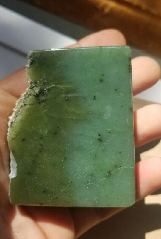 175g Siberian nephrite Jade Rough Carving Block Slab