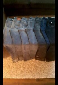 7 Pairs of Woman's Brand Name Jeans (Size 26)
