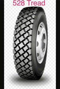 New Semi Tires LongMarch Full Warranty 11r22.5 11r24.5