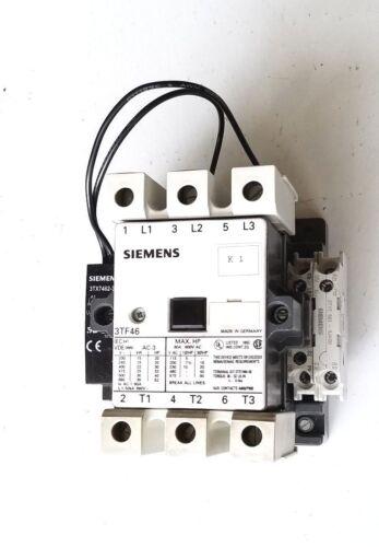 SIEMENS CONTACTOR 3TF46